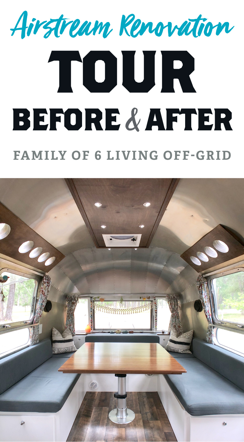 Airstream Renovation Tour: Before & After