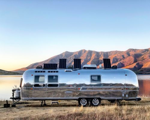 Airstream Renovation - Tiny Shiny Home
