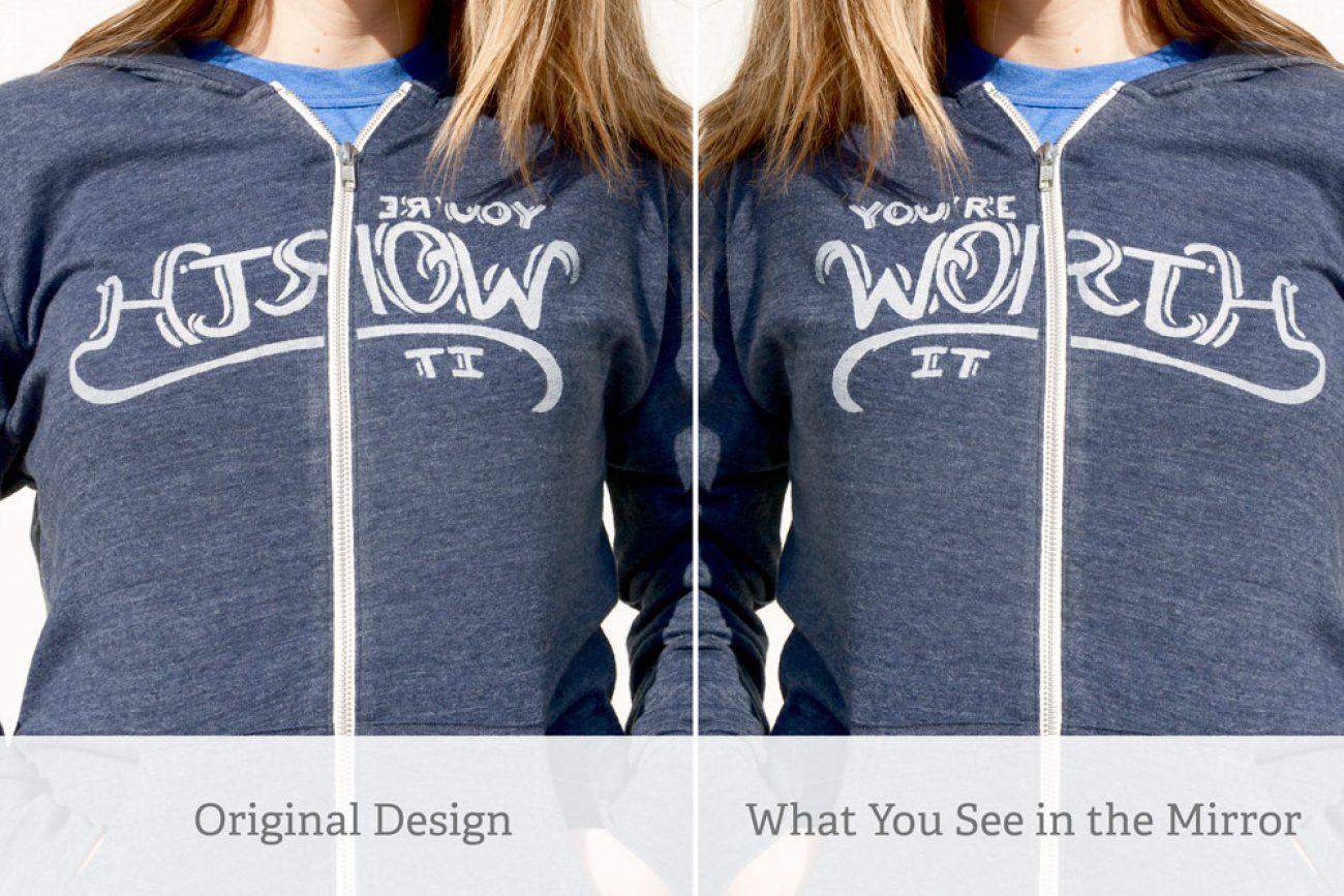 Mirror Image Hoodie
