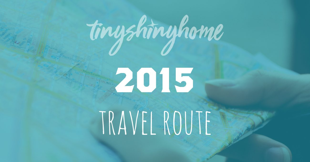 2015 Travel Route