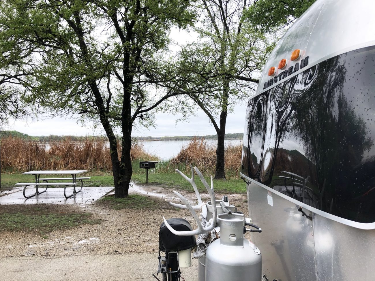 Lake Mineral Wells State Park - Tiny Shiny Home
