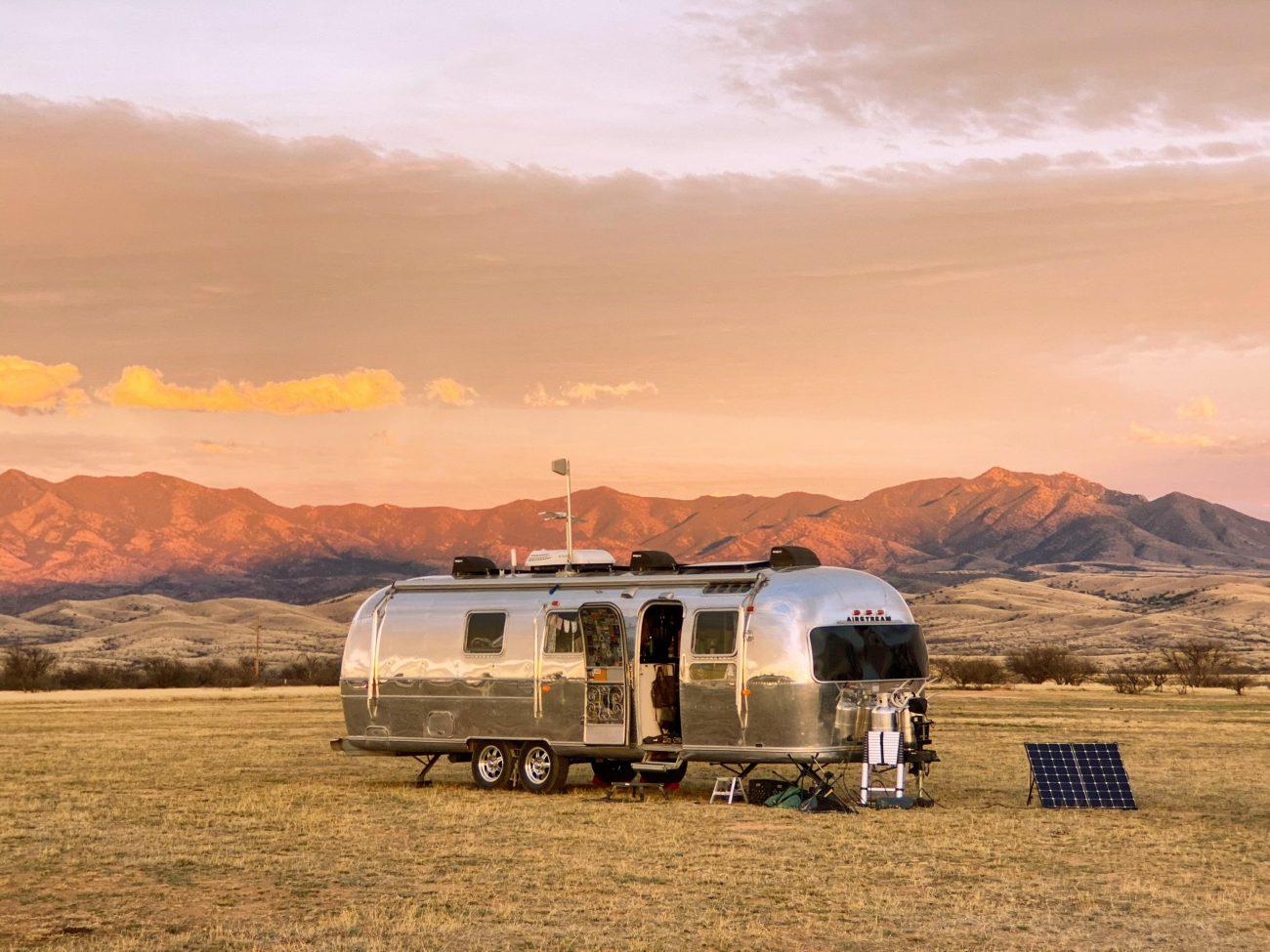 Airstream in Arizona