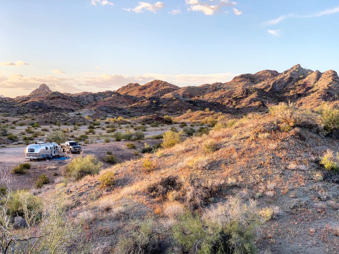 Boondocking on BLM