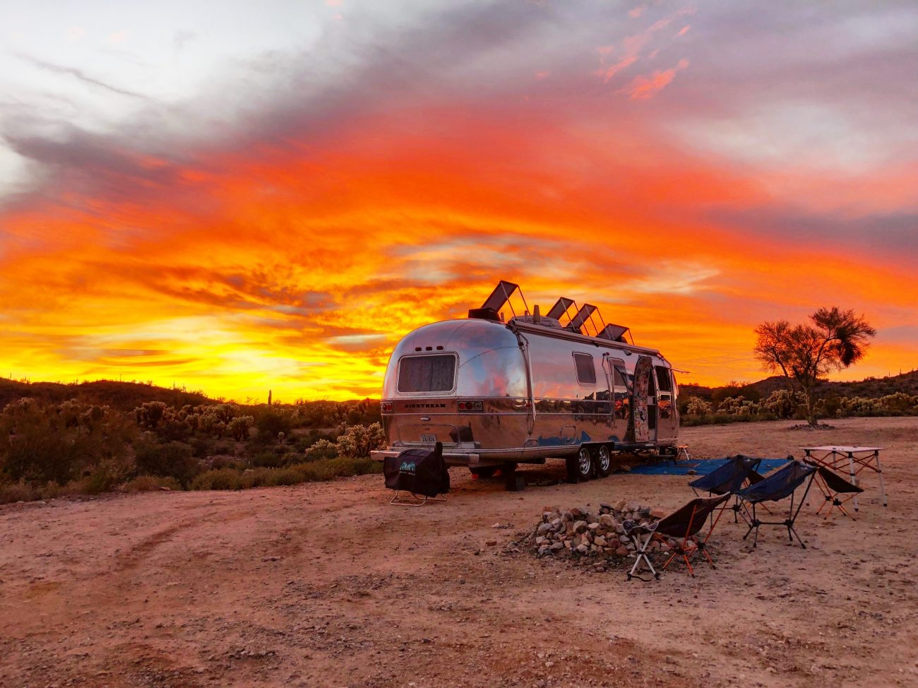 Boondocking in Wickenburg, AZ 2