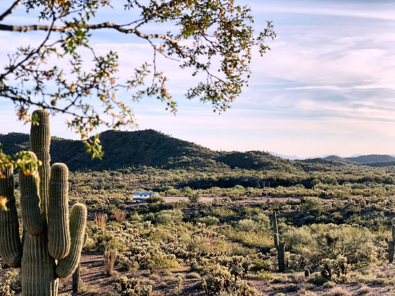 Boondocking in Wickenburg, AZ