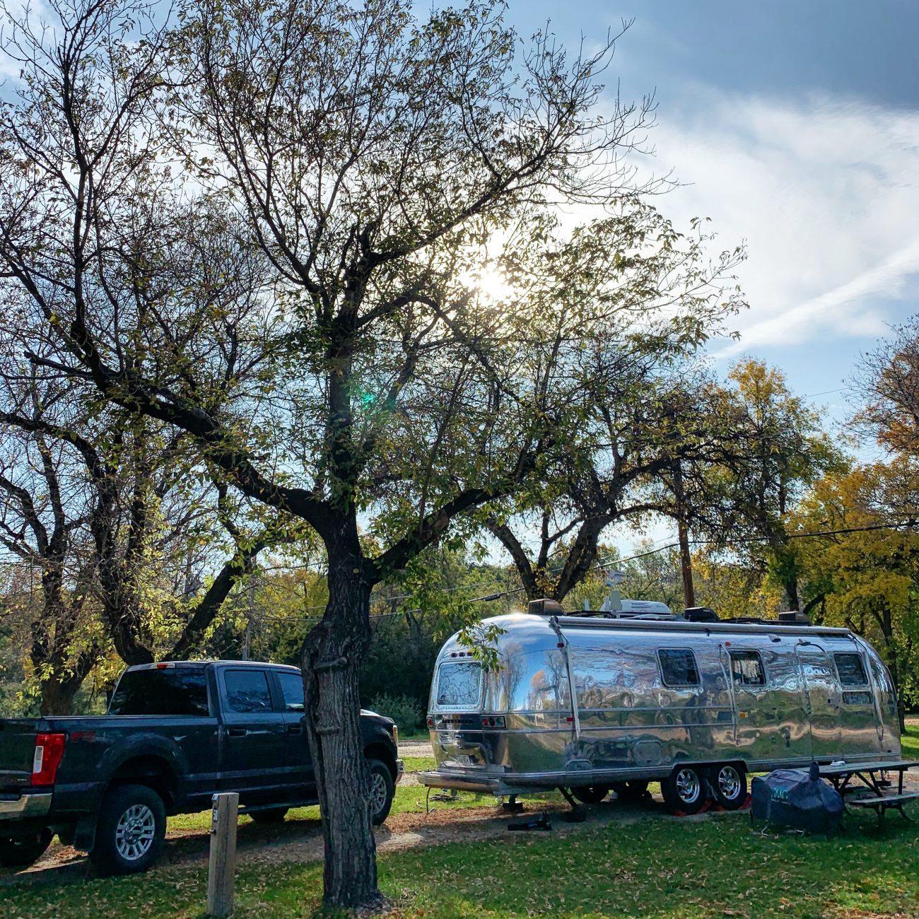 Campground in Saskatchewan