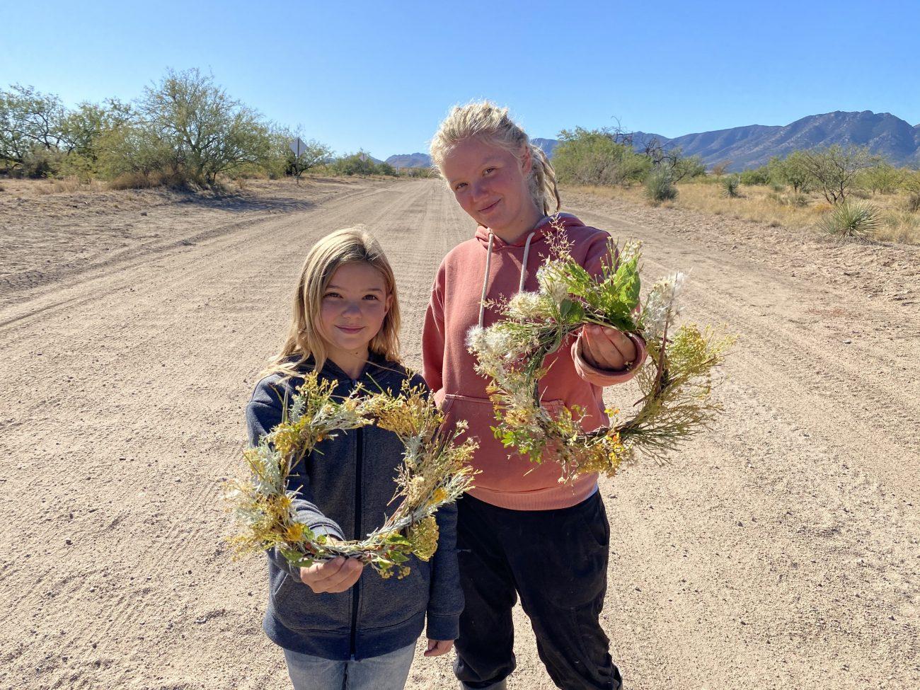 DIY Desert Wreath