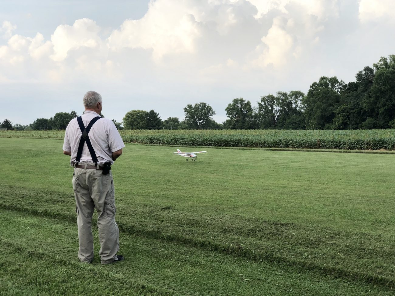 Dad and his RC Plane