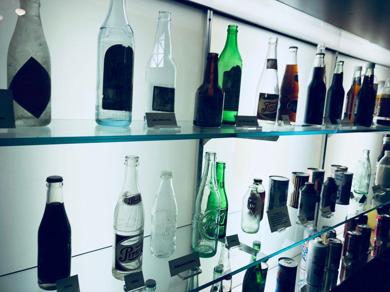 Dr Pepper Museum Bottles