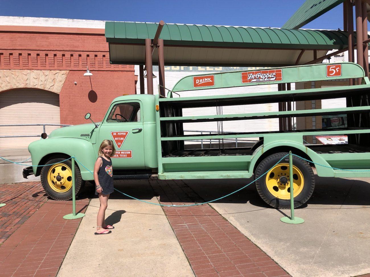 Dr Pepper Museum Truck