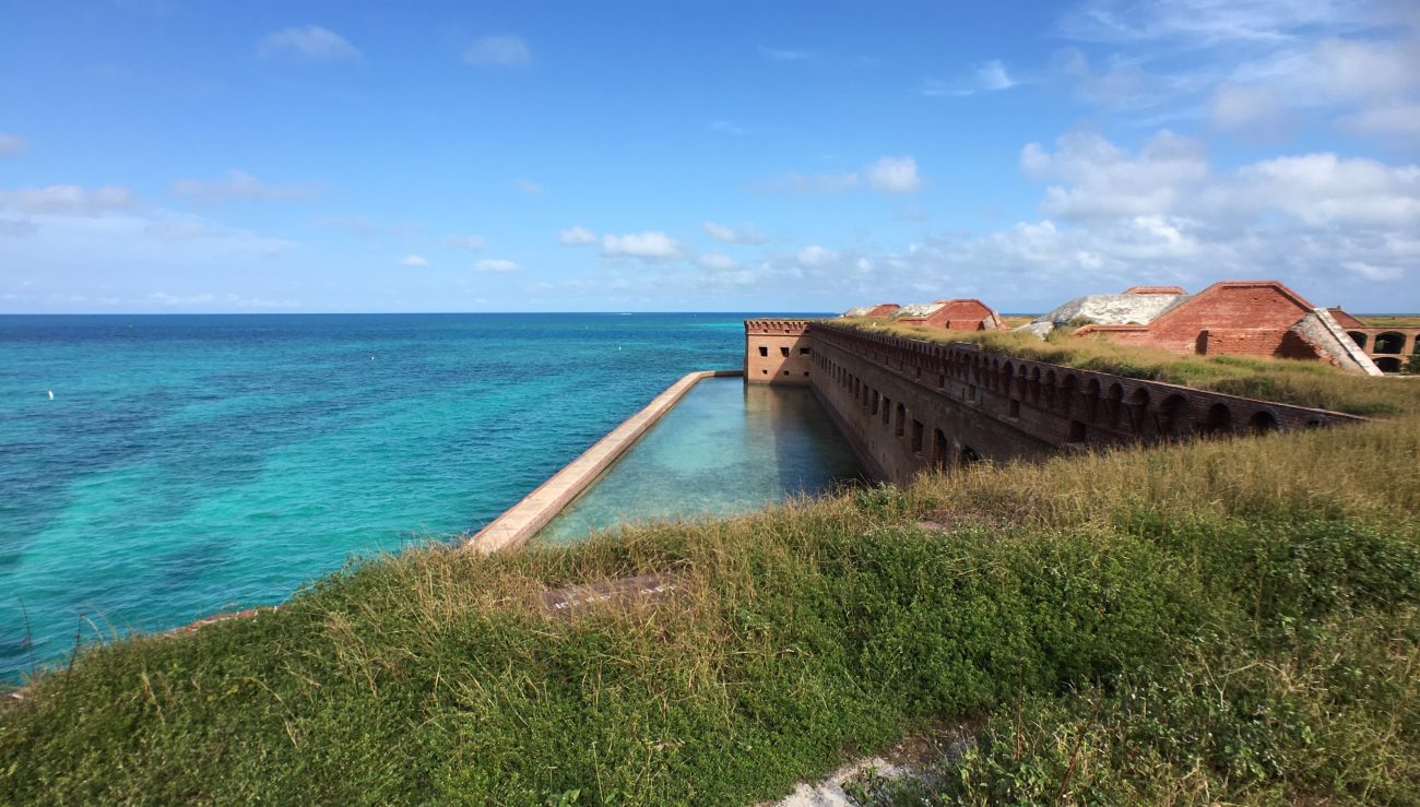 Dry Tortugas From Top of Fort