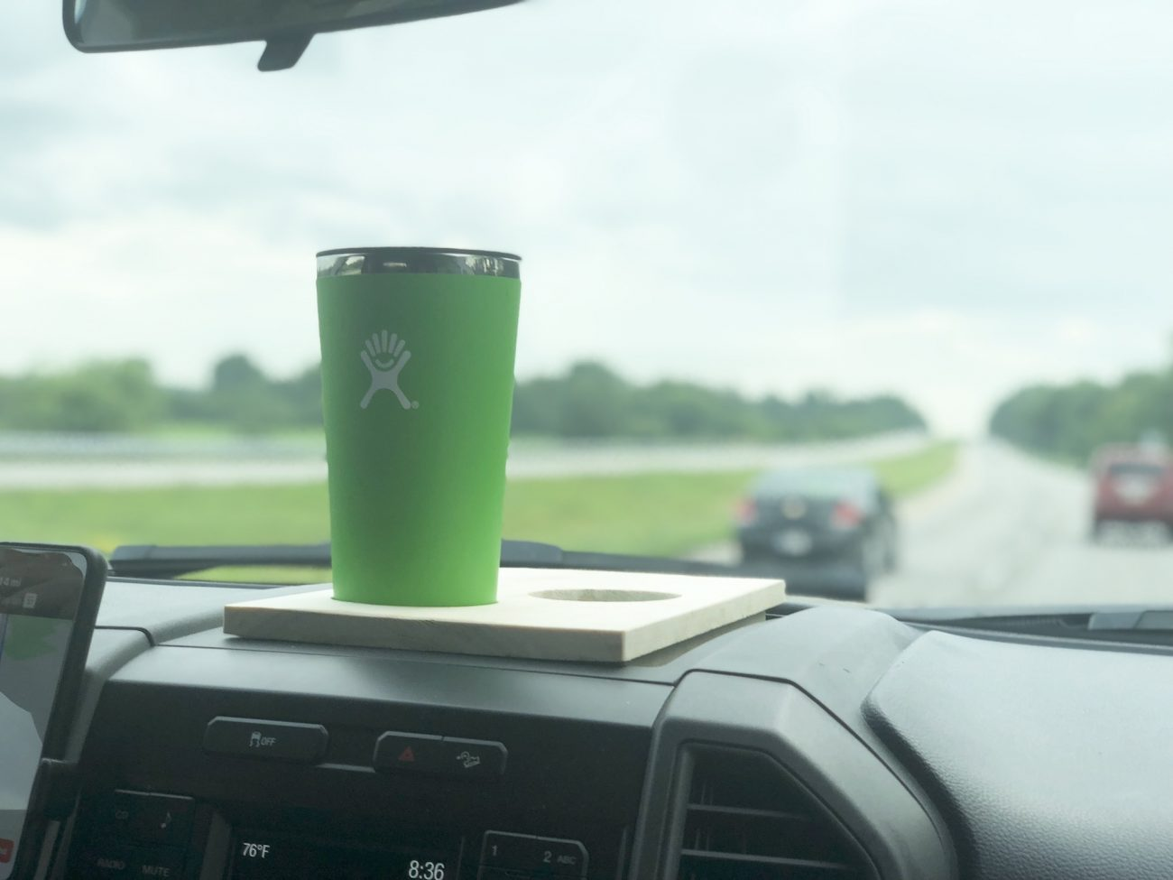 F250 Cup Holder