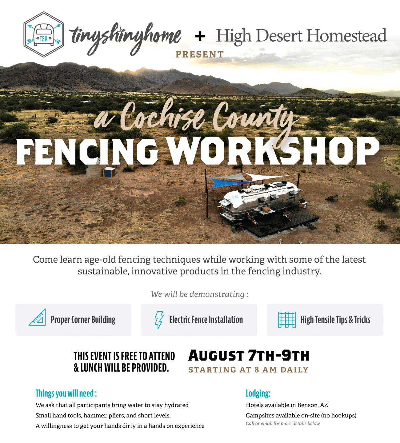 Fencing Workshop Flyer