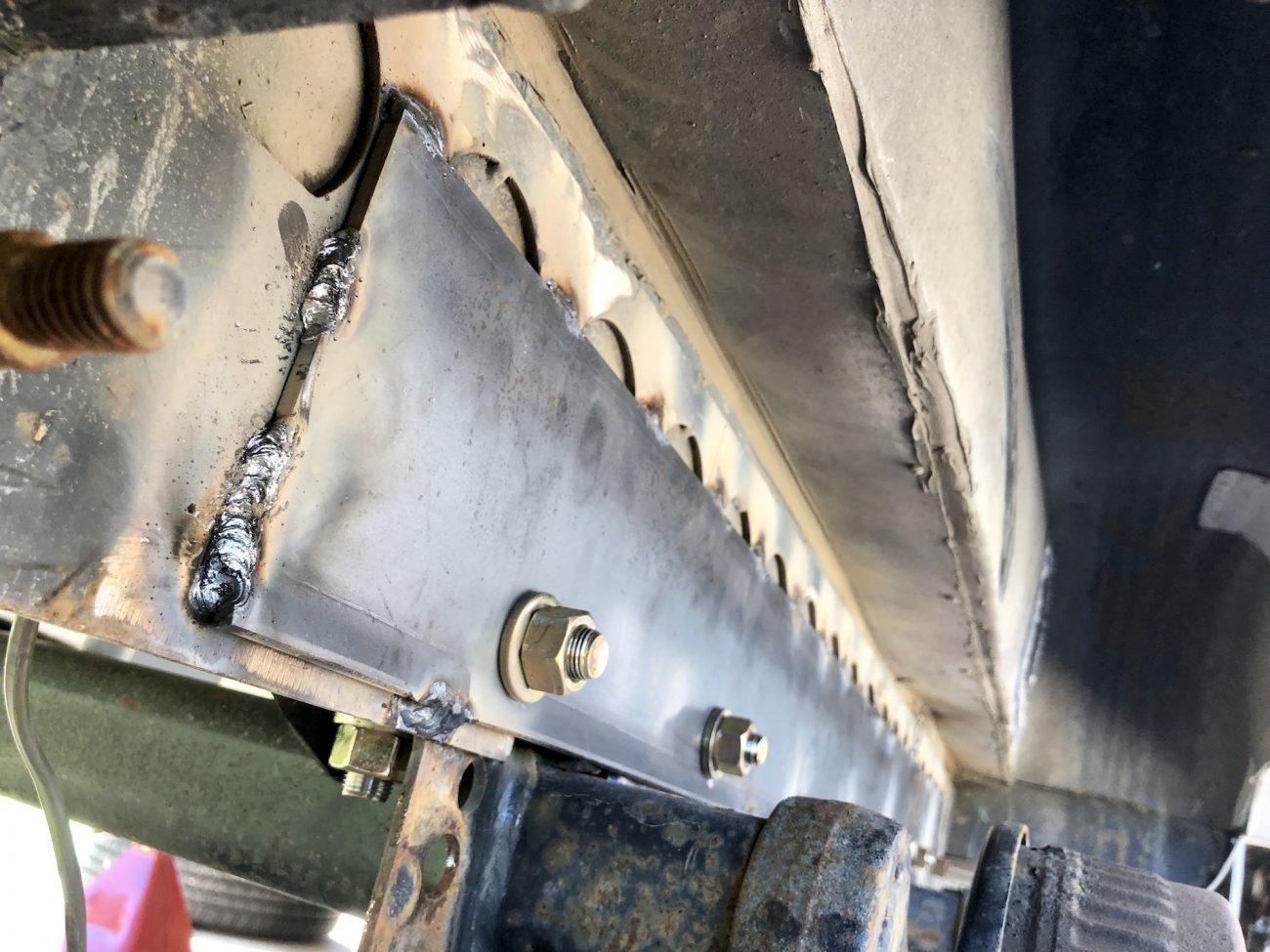 Fixing Airstream Frame