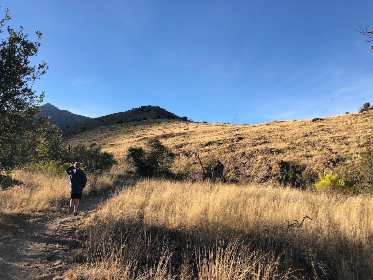 Hiking near Hunter Canyon