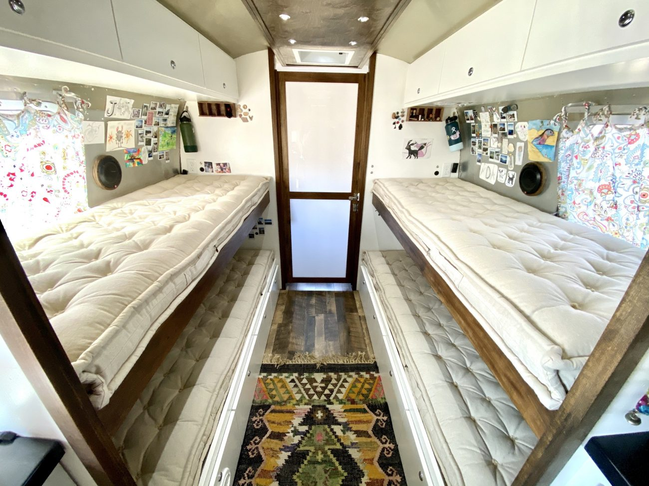 Airstream Bunkbeds - Home of Wool