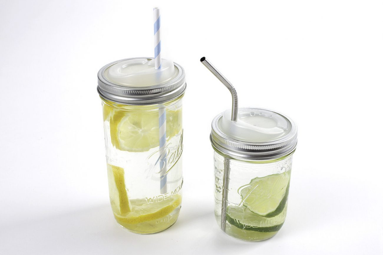 Cuppow canning jar drinking lids