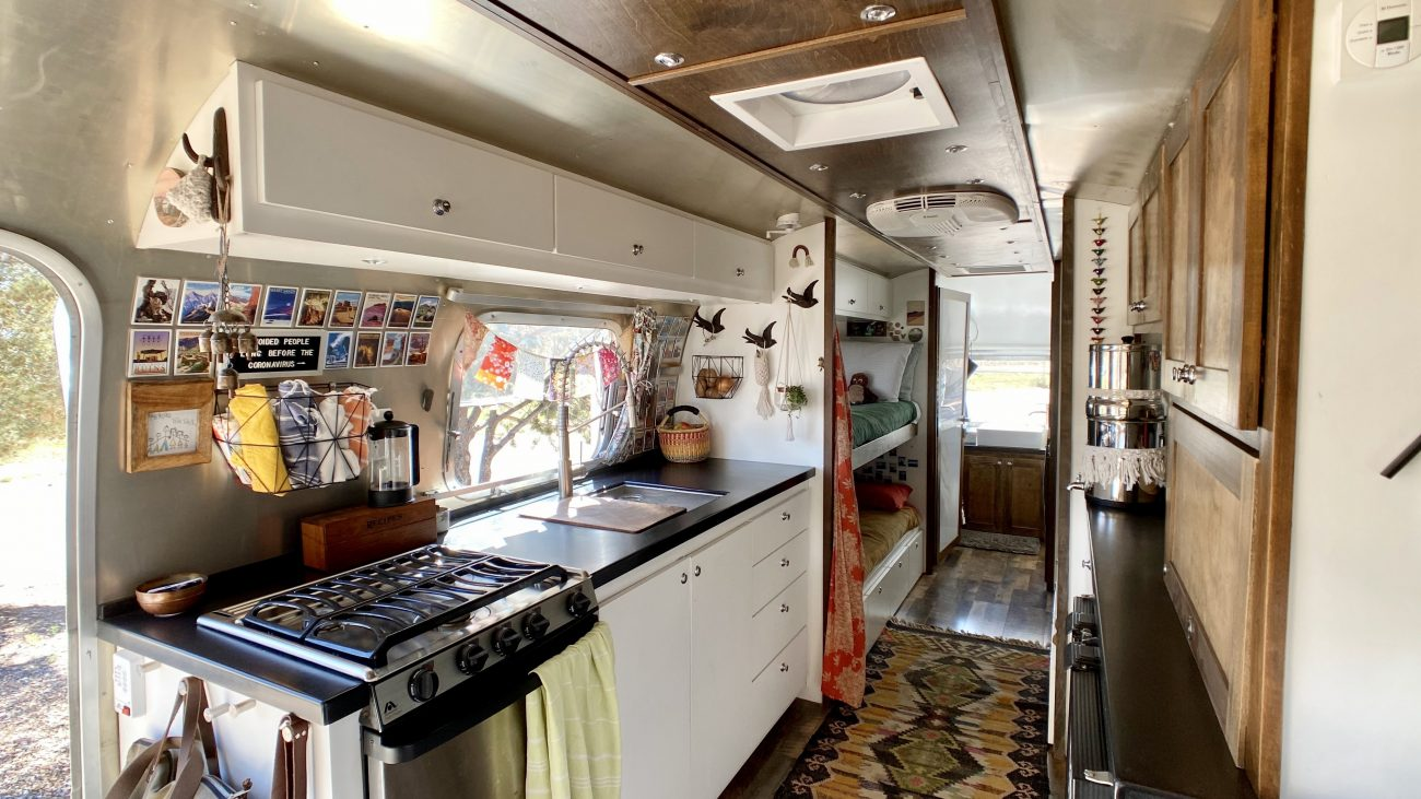 Airstream Kitchen Stove