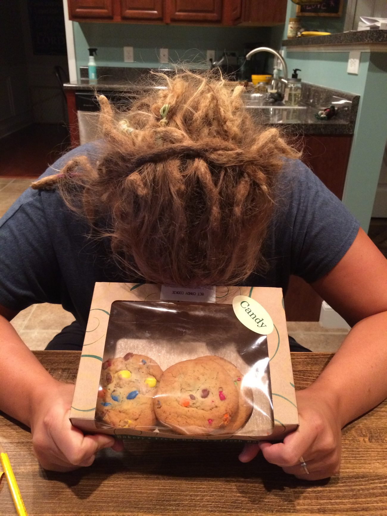 Ashley wanting cookies