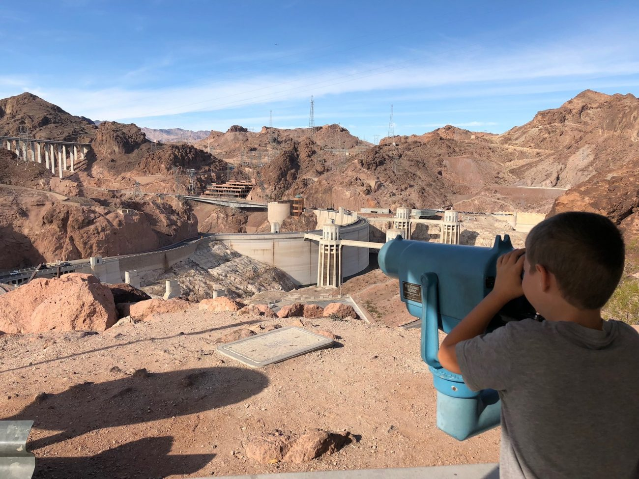 Jax at the hoover dam