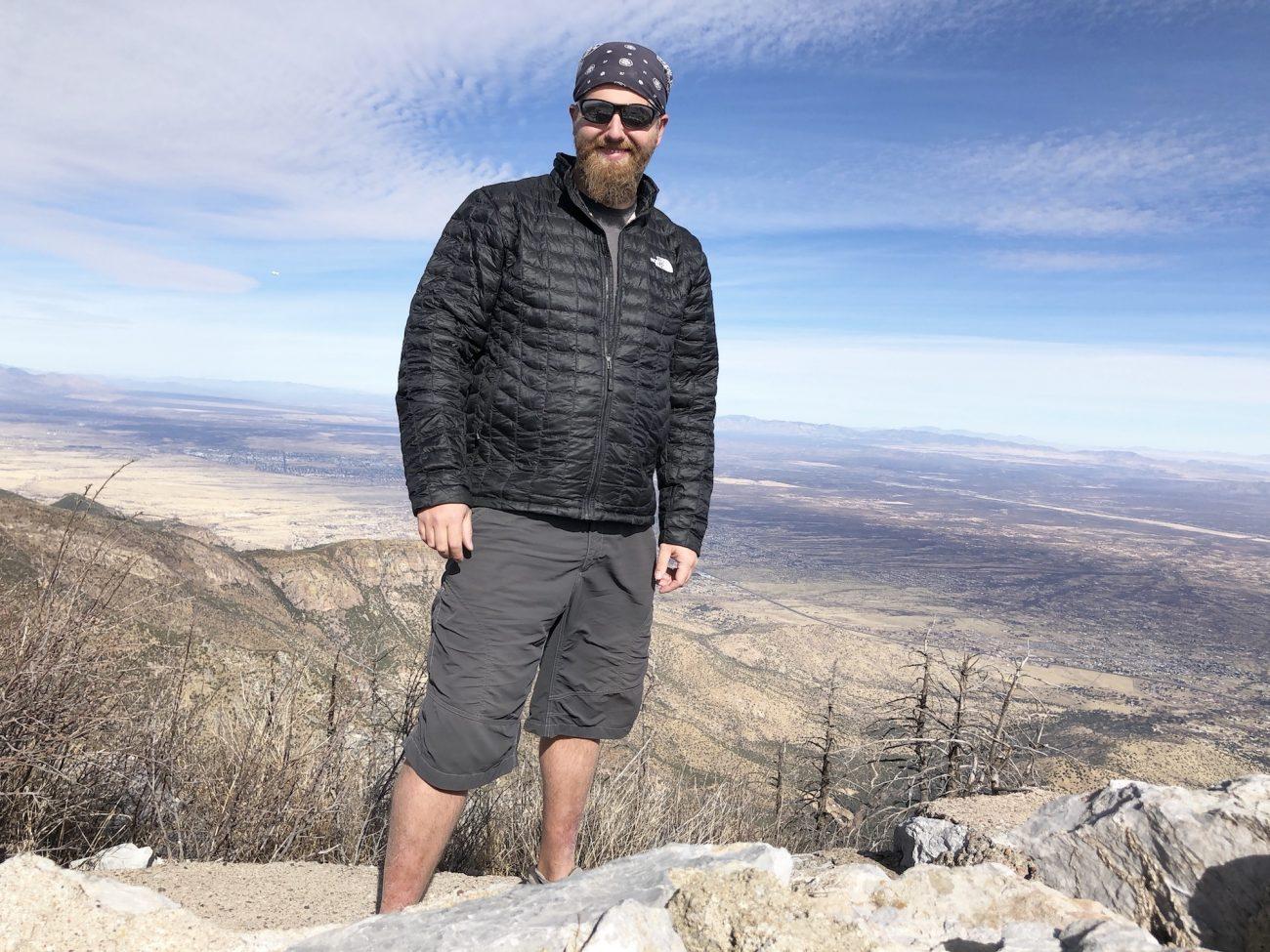 Jon at the top of Miller Peak
