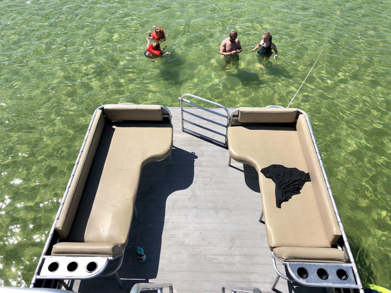 Lagoon Pontoon Rental in PCB