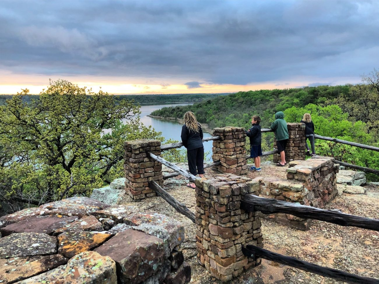 Lake Mineral Wells State Park View