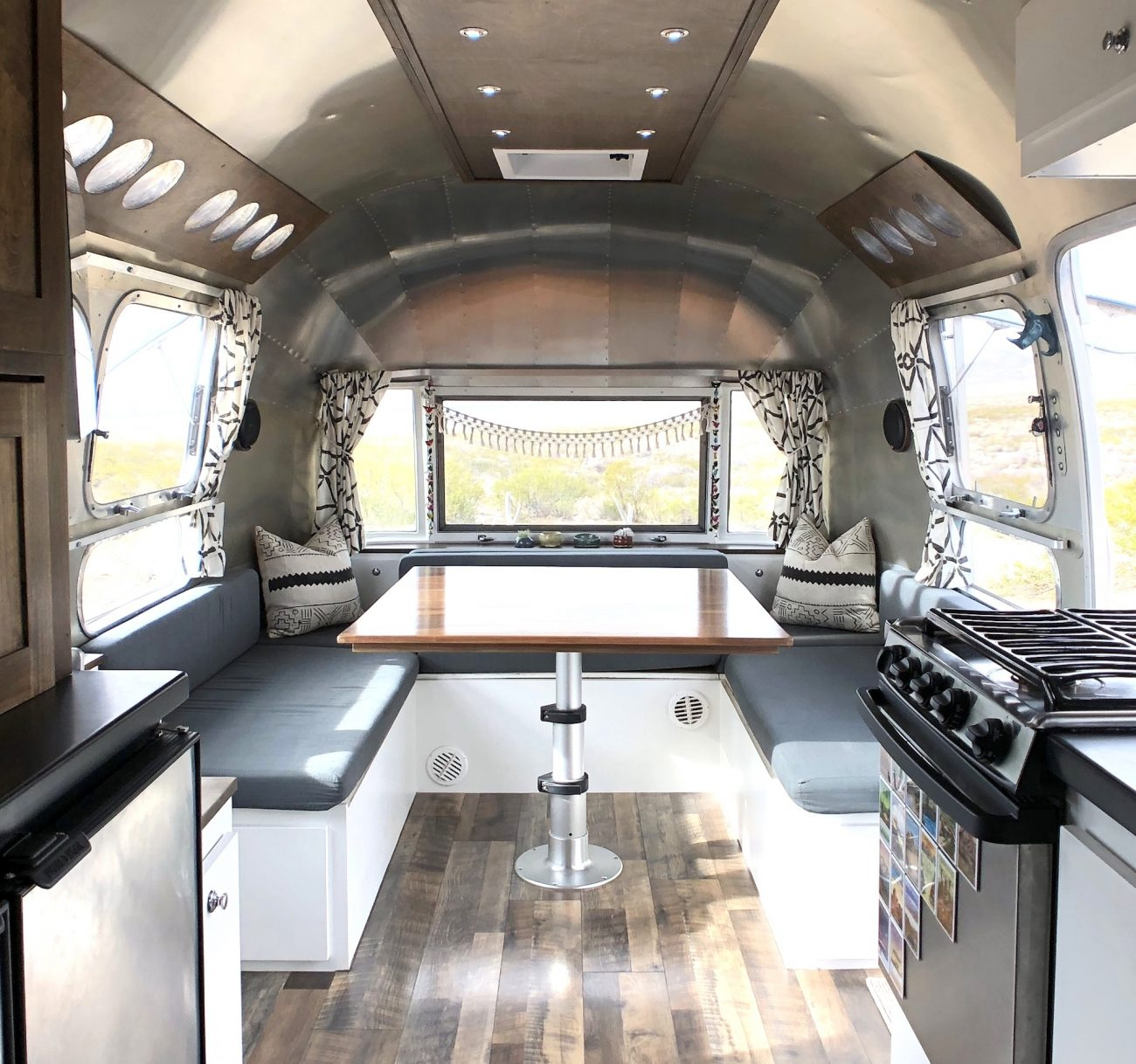 Airstream Dinette/ Living Room