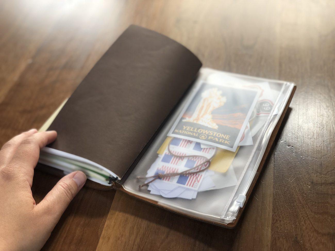 Traveler's Notebook Plastic Insert