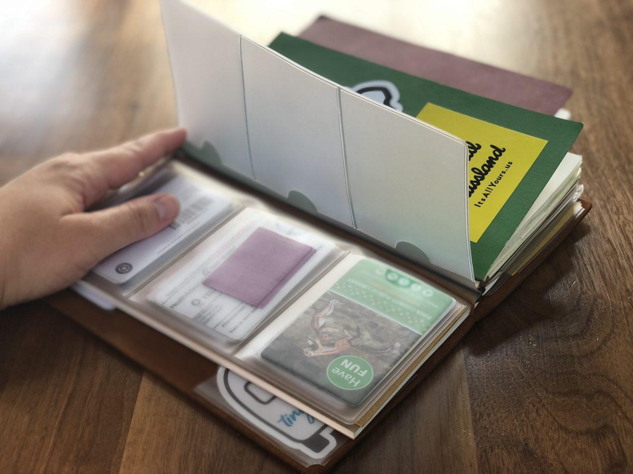 Travelers Notebook - Card holder