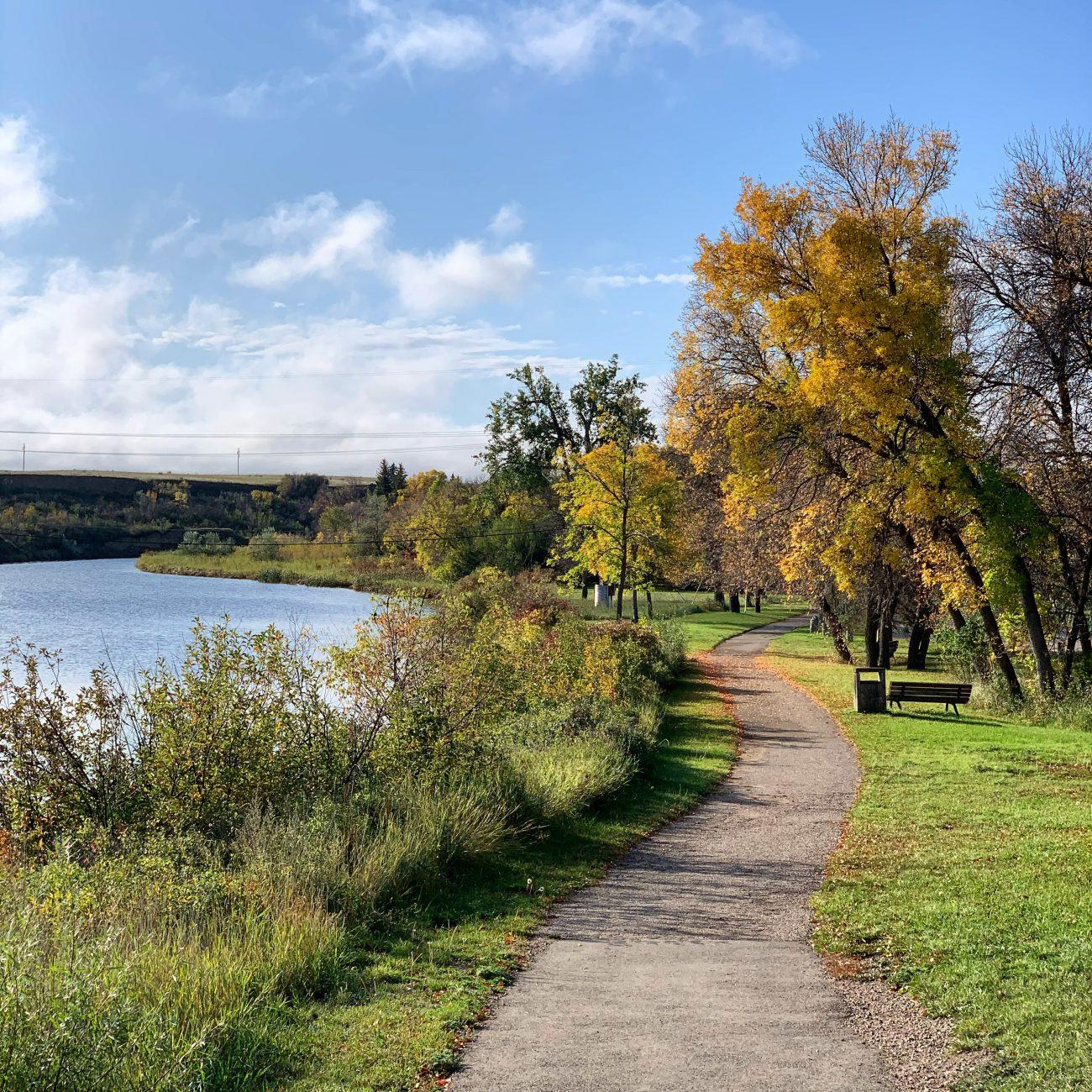 Walking in Saskatchewan