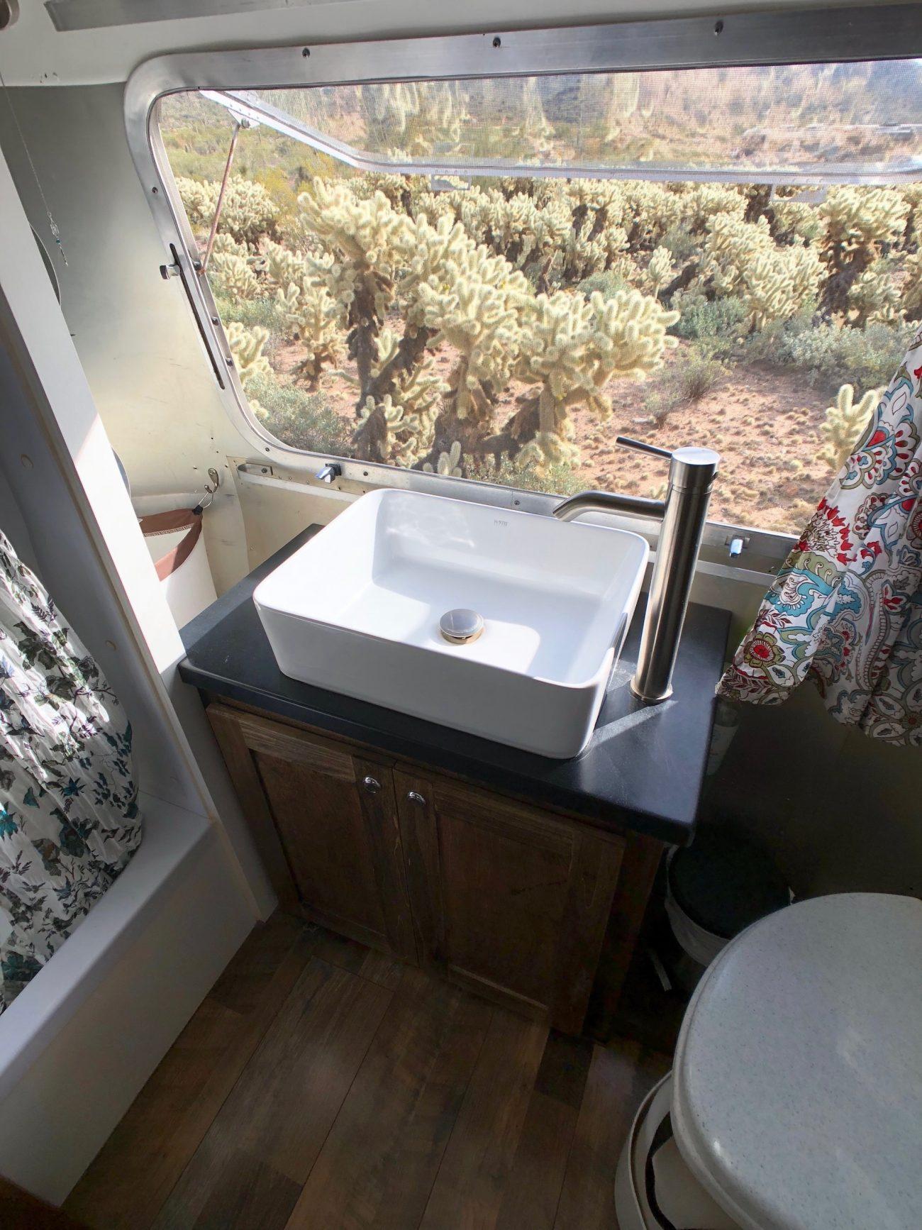 Airstream Bathroom Vanity