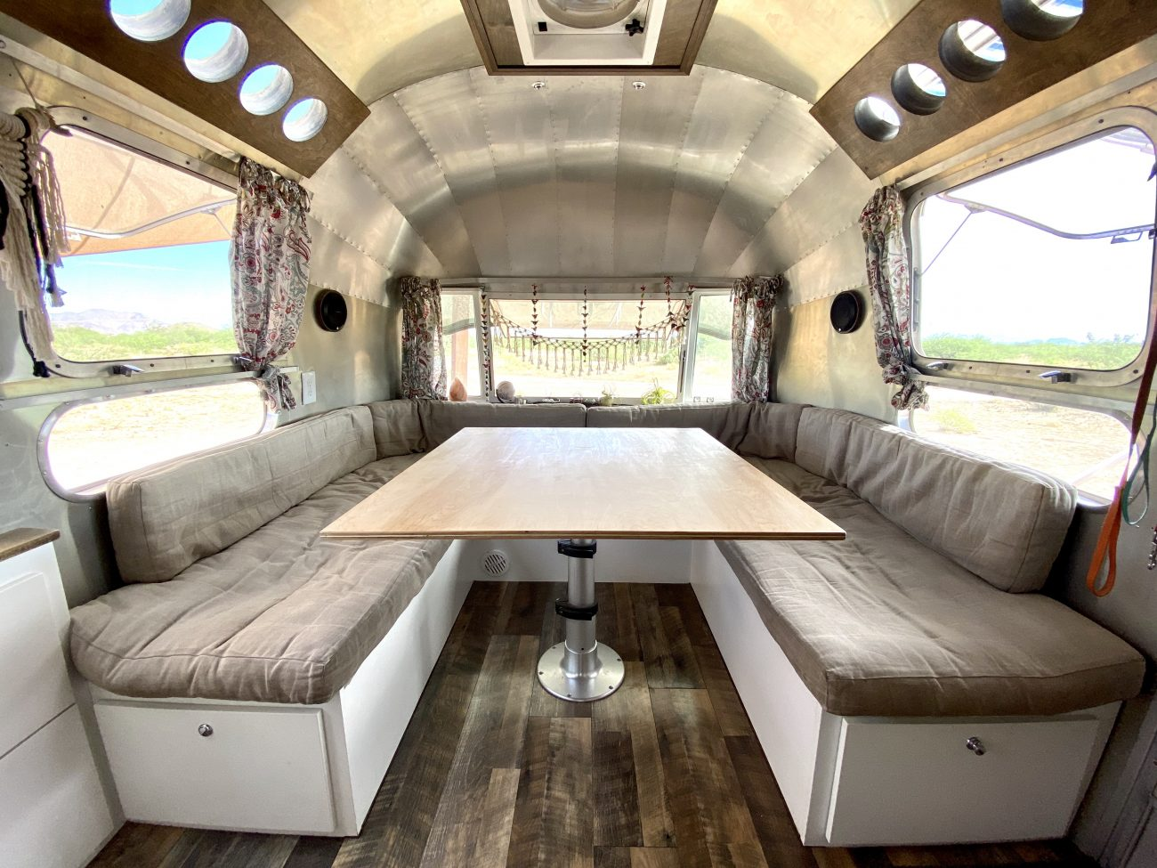 New Dining Room Table in Airstream