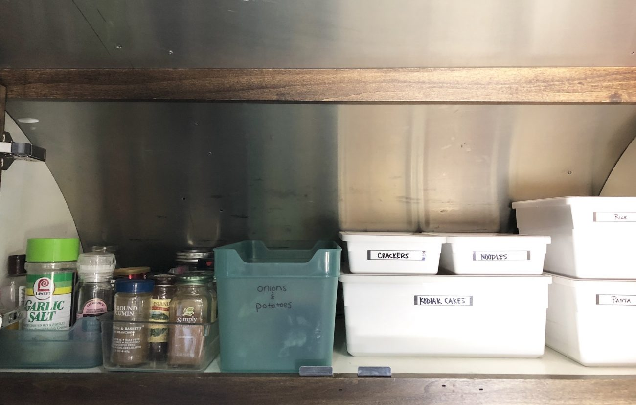 What's In Our Kitchen? - Tiny Shiny Home
