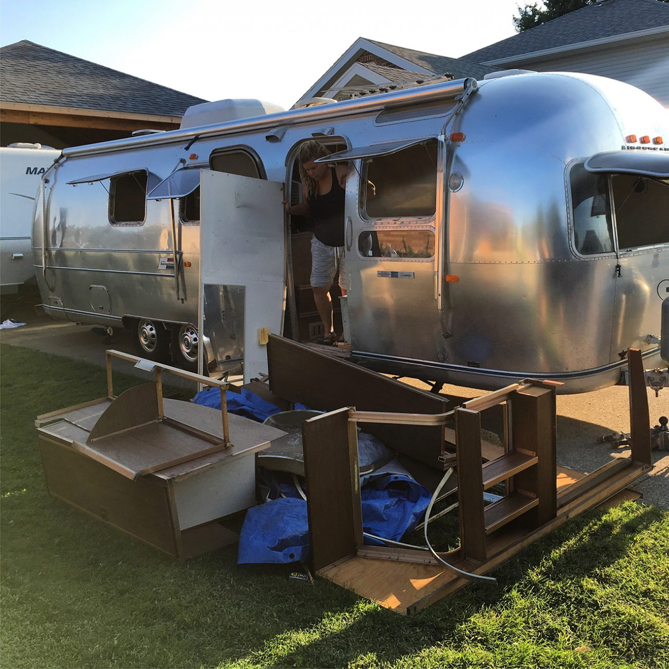 Ashley In Airstream