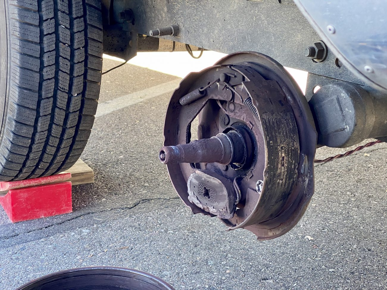 Axle Problem on Airstream