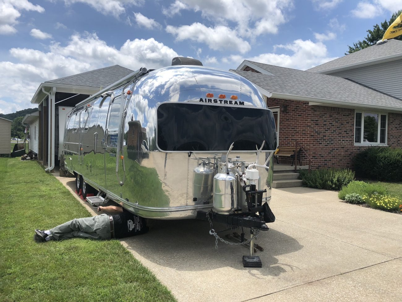 Back in Indiana with the Airstream
