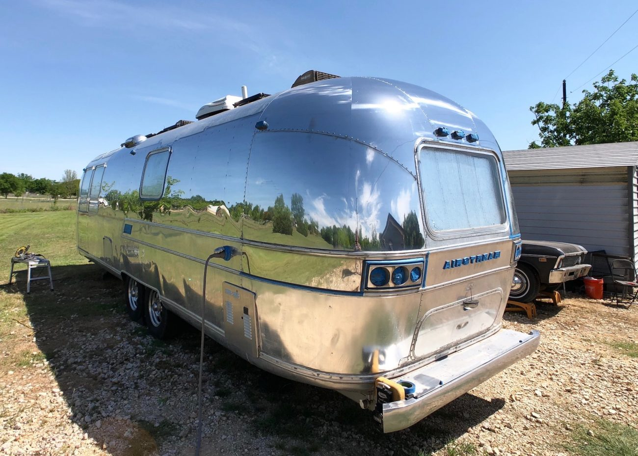 Back Side Airstream First Pass