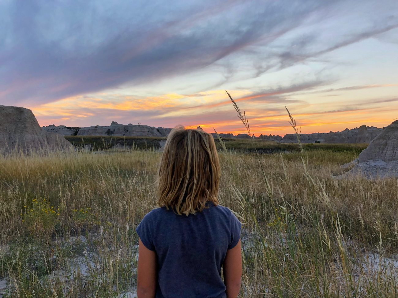 Badlands Ada Sunset