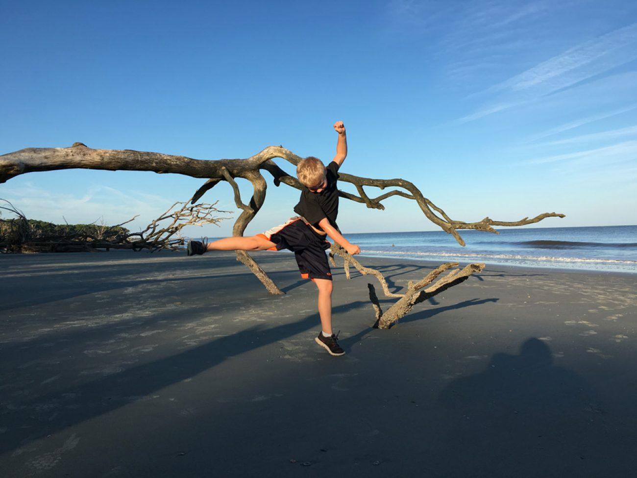Hunting Island Jett Jump