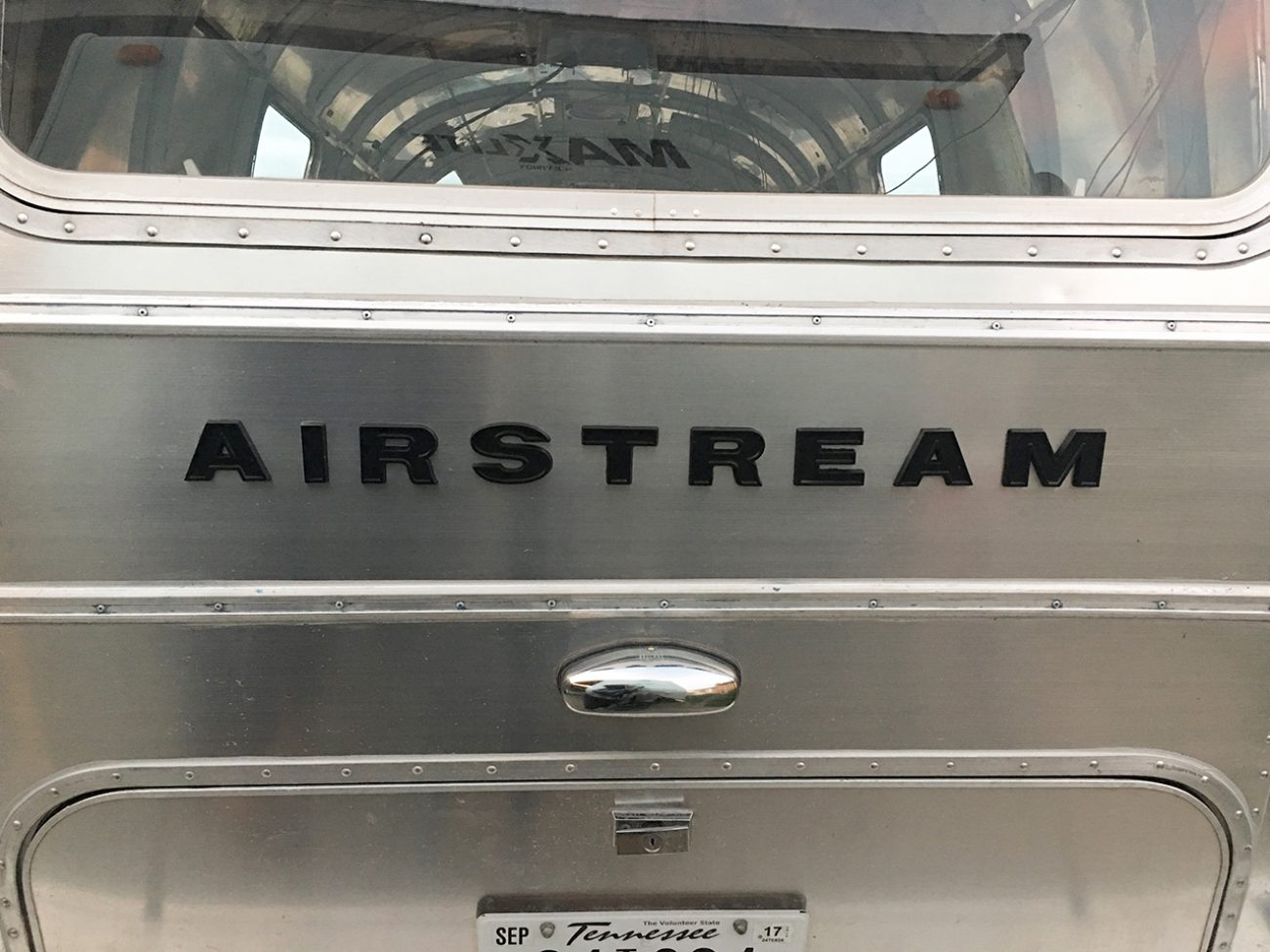 Black Airstream Letters