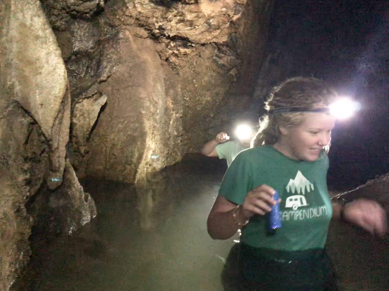 Cave tour at Norris Lake