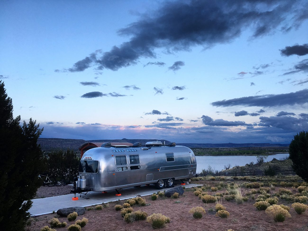Cochiti Lake Airstream