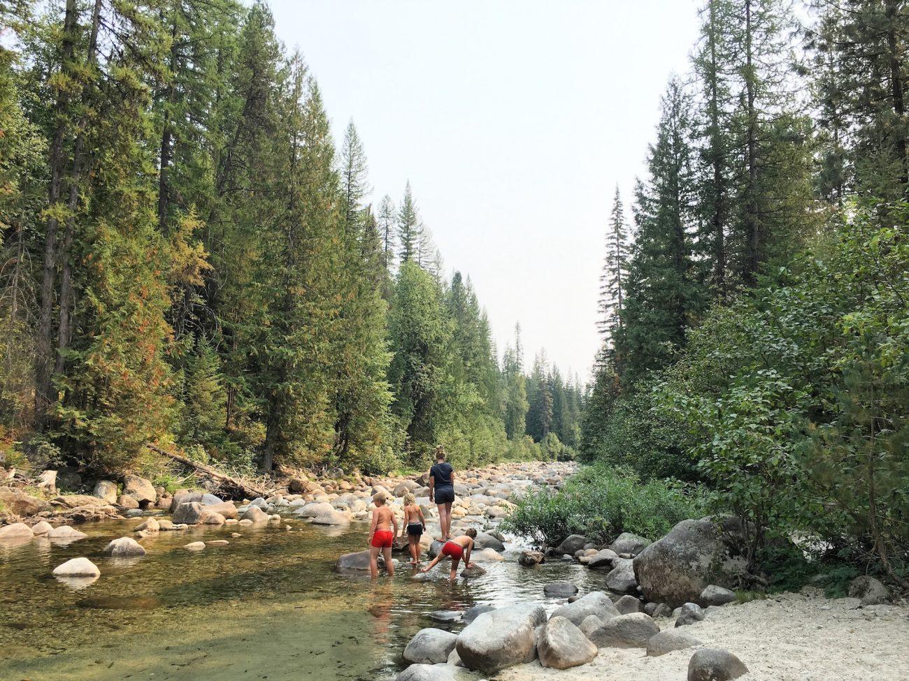 creek in idaho