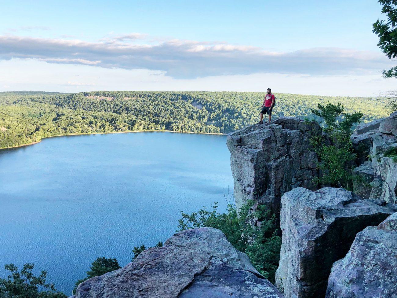 Devils Lake Jon Rock