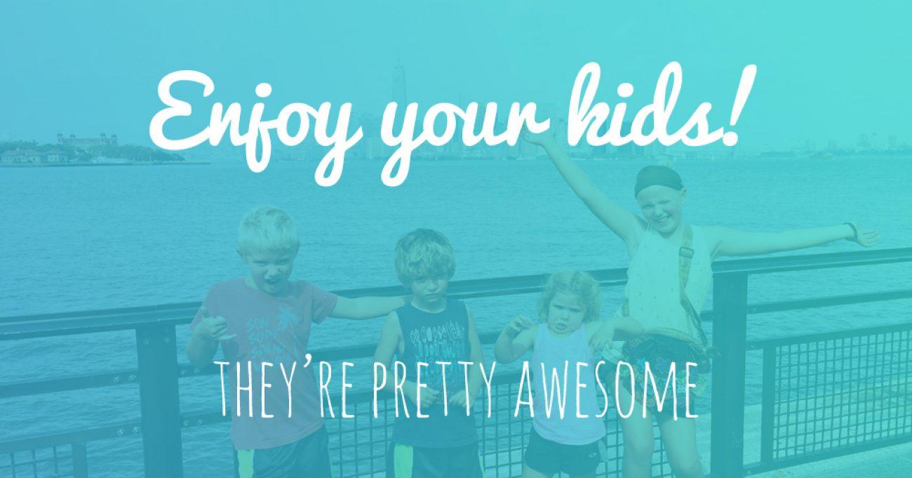 Enjoy Kids Poster