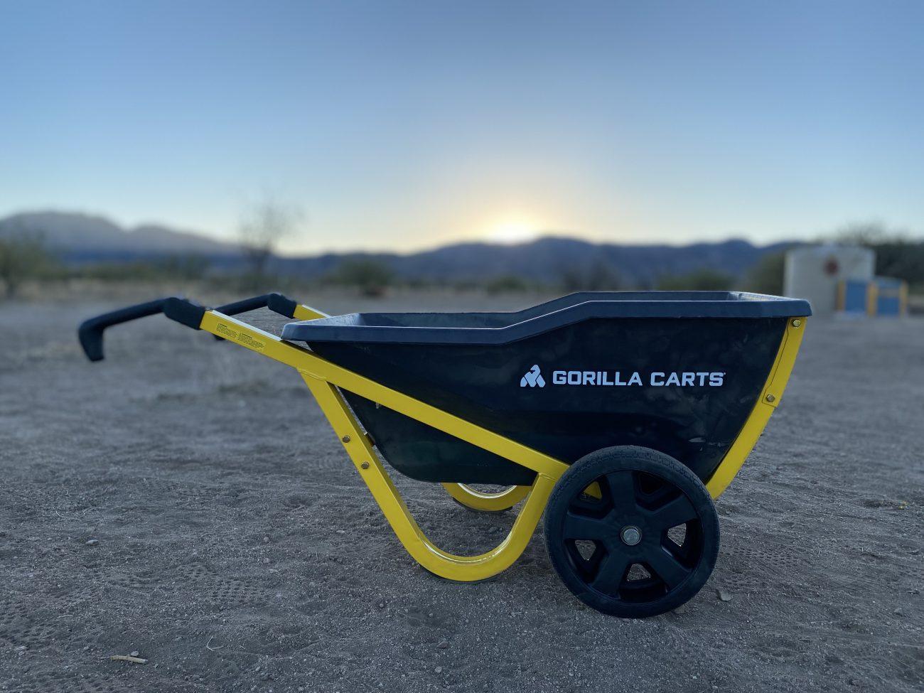 Gorilla Carts Evolution Yard Cart