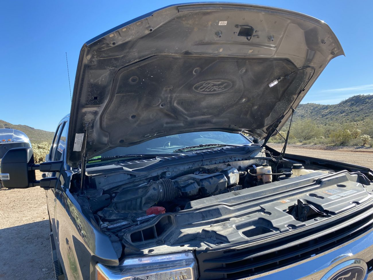 F250 Packrat Camage