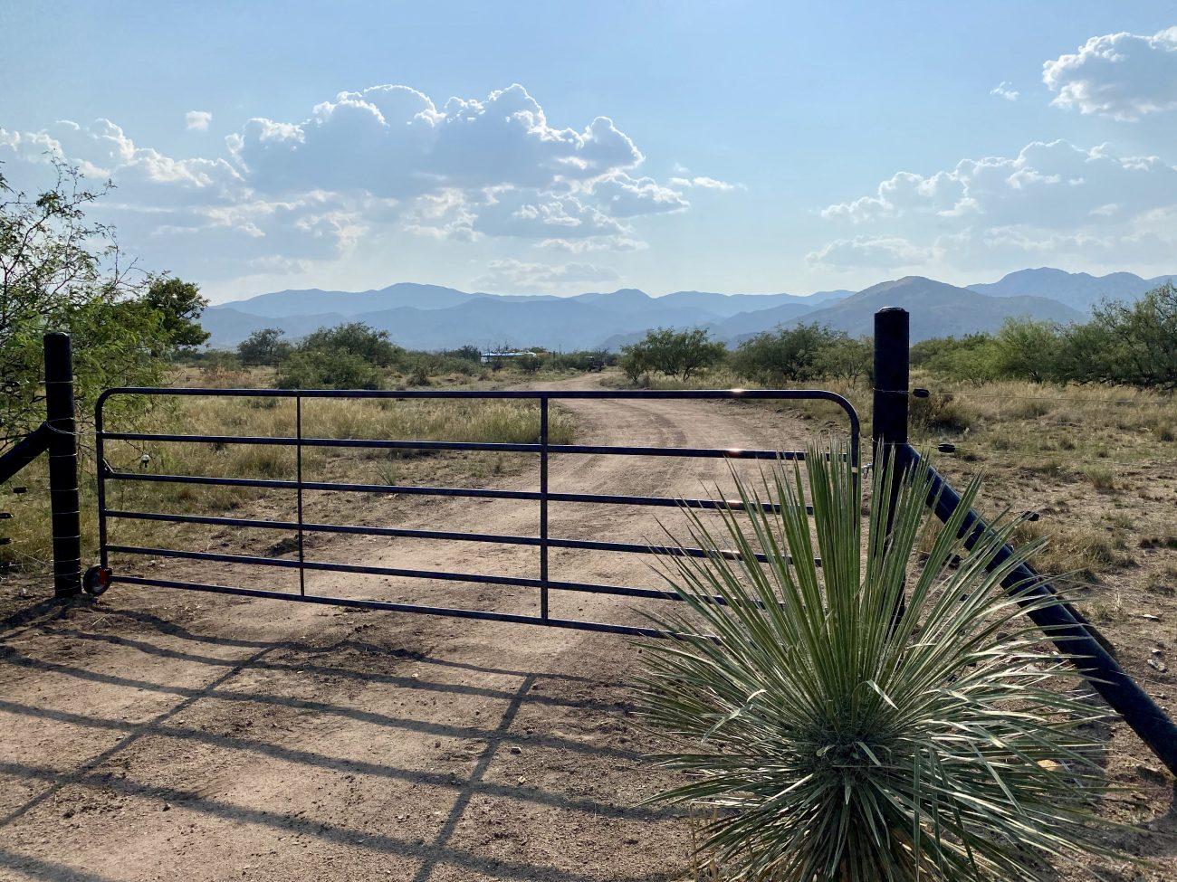 16' entry gate