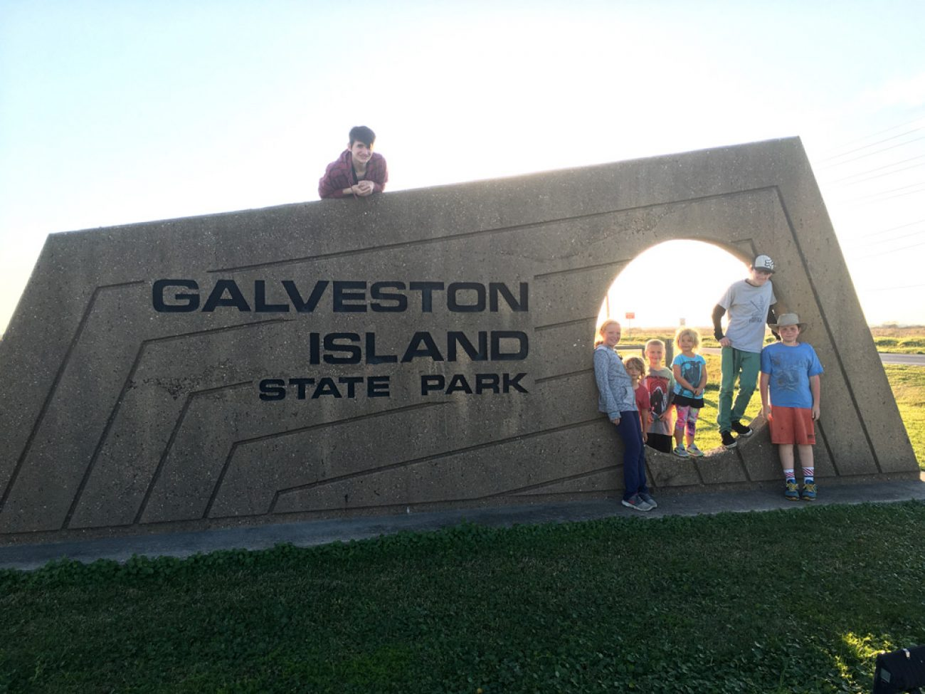 Galveston Island Sign